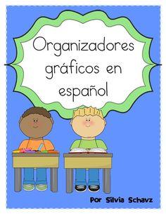 Organizadores gráficos en español Por Silvia Schavz