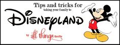 All Things Thrifty Home Accessories and Decor: My top 10 Tips for Disneyland Disney Fun, Disney Parks, Disney Tips, Disney Dream, Disney Magic, Disney Travel, Walt Disney, Disney Vacations, Vacation Trips