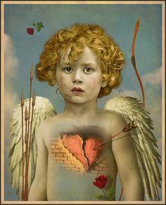 The Whimsey Asylum...  Cupid's Broken Heart