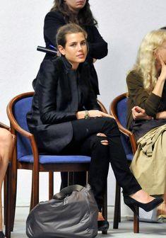 Charlotte Casiraghi - Charlotte Casiraghi at the Fondazione Pistoletto
