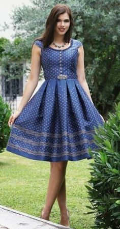 Sotho Traditional Dresses, African Traditional Wear, African Dresses For Women, African Attire, Different Dresses, Nice Dresses, Ladies Day Dresses, Shweshwe Dresses, African Fashion Ankara