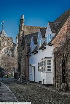 From Lamb House to the Church, Rye, East Sussex, England, UK