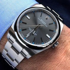 In some cases part of that image is the quantity of money you invested to use a watch with a name like Rolex on it; it is no secret how much watches like that can cost. Rolex Watches For Men, Seiko Watches, Luxury Watches For Men, Gold Rolex, New Rolex, Rolex Oyster Perpetual, Stylish Watches, Cool Watches, Silver Pocket Watch