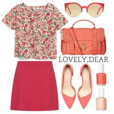 """Untitled #714"" by mojmoj on Polyvore...so romantic love the style"