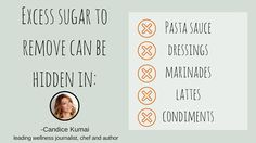 CE Tip 28: Avoid excess sugar by making your own sauces, dressings, and condiments