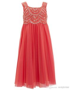 2014 Hot Selling Junior Bridesmaid Dresses with Beaded Flower Girls' Dresses | Buy Wholesale On Line Direct from China