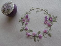 Embroidery - Flowers and Leaves