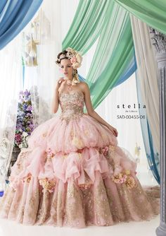 Many artists and illustrators preferred Cinderella in pink, like this. Quinceanera Dresses, Prom Dresses, Wedding Dresses, Beautiful Gowns, Beautiful Outfits, Barbie Mode, Fantasy Gowns, Fairytale Dress, Dream Dress