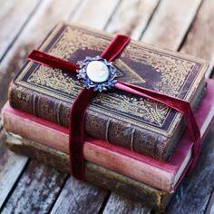 ≈ Beautiful Antique Books ≈ For more book fun go to www.facebook.com/booktasticfun