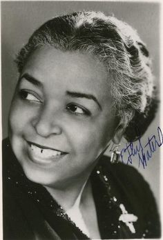 1952...ACTRESS RUNNER-UP:  Ethel Waters, The Member of the Wedding