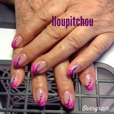 Image - Michèle - Déco d'ongle en gel - Skyrock.com