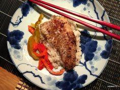 Домашний соус терияки способен творить чудеса. Тривиальный морской окунь под соусом терияки настолько хорош, что дарит ощущение японской кухни – на вашей кухне.  http://amp.gs/1hu5