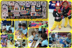 exploring the idea that 'Through play we express our feelings and ideas and come to new understandings. The Real World, Exploring, Kindergarten, Baseball Cards, Play, Feelings, Learning, School, Children