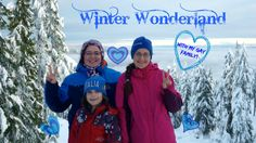 Gay Family Visiting Winter Wonderland - Mount Seymour, North Vancouver, ...