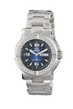 d61cf95eebc3 REACTOR Men s 74603 Critical Mass Degrading Blue Dial Stainless Steel Watch
