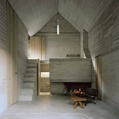 """Casa d'Estate, Linescio  Switzerland  Buchner Bründler Architekten Photo: Rudie Walti #concrete #architecture #design #timber #timberdoors #restoration #renovation #interior #interiors #instainteriors #concreteconstruction #inspiration #BuchnerBründler"" Photo taken by @lucdesign on Instagram, pinned via the InstaPin iOS App! http://www.instapinapp.com (04/06/2015)"