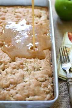 BEST EVER Apple Cake Recipe!