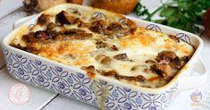 Sformato di funghi una ricetta semplice, facile e saporita, un piatto unico perfetto per le prime serate un po' freddine che speriamo che arrivino.