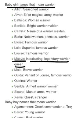 Find a Name for your Baby! - Pretty Baby Names - Ideas of Pretty Baby Names - Names meaning warrior Pretty Baby Names Ideas of Pretty Baby Names Names meaning warrior Book Writing Tips, Writing Resources, Writing Help, Writing Prompts, Writing Ideas, Story Prompts, The Words, Names That Mean Warrior, Warrior Girl Names