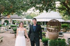 Wedding at Houston's Tiny Boxwoods