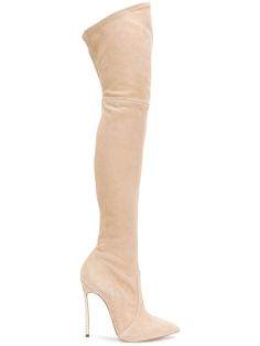 83715ed32 Shop Casadei thigh length stiletto boots. Heel Stretch