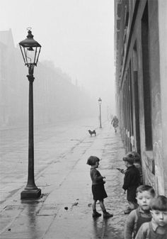 Bert Hardy Children in the run-down Gorbals area take to the streets