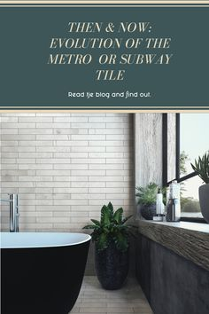 What are the latest trends with this age-old shape? Read our blog to find out and get inspired by the latest trends on how this tile is here to stay.  #metrotiles #tiletrends #decobellatiles #subwaytiles