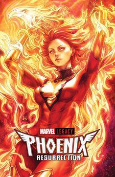 Phoenix Resurrection Return Of Jean Grey 1 Marvel 2017 NM Stanley Lau Artgerm Variant Ms Marvel, Marvel Comics Art, Marvel Girls, Captain Marvel, Comic Book Covers, Comic Books Art, Comic Art, Jean Grey Phoenix, Dark Phoenix
