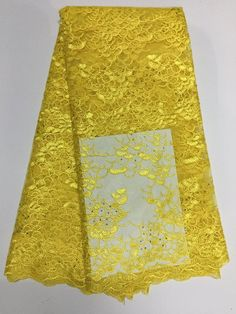 African Net Lace Floral Embroidered Nigerian French Lace XD001-1  https://www.lacekingdom.com/