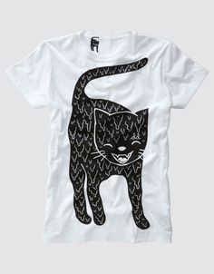 CAT T shirt .Drop Dead Clothing Product
