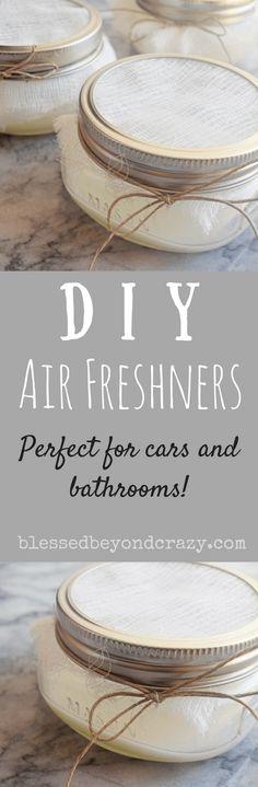 DIY Air Fresheners -