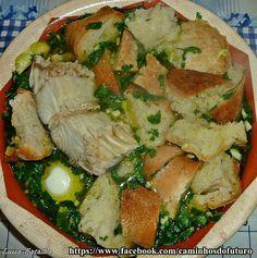 Receitas práticas de culinária: Açorda Alentejana
