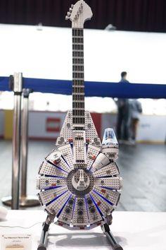 The Millennium Falcon Guitar
