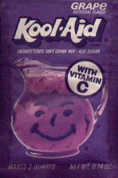 Kool-Aid when the pitchers were on the cover