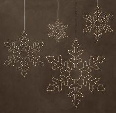 Starry Light Hexagon Snowflake | Special $59 - $119