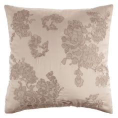 use scraps of lace to decorate a cushion cover? // Zara Home SS'13