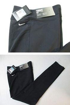 Nike Womens tight fit training yoga pants size M 669744 010