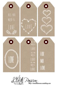Labels voor geliefden tags for lovers Mini Album Scrapbook, Scrapbook Paper, Printable Labels, Free Printables, Diy And Crafts, Paper Crafts, Little Presents, Love Tag, Scrapbooking
