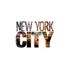 NYC IS THE SHIZ ❤ liked on Polyvore featuring text, quotes, backgrounds, words, new york, phrase and saying