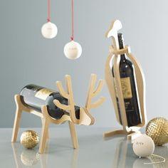 Penguin Or Reindeer Corporate Gift Wine Rack - view all sale items