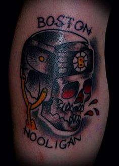Hockey tattoo idea