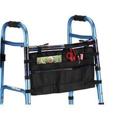 NOVA Medical Products Folding Walker Bag, Black New