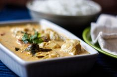 Easy cod curry