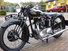 1932 Rudge Special - 500 cc Motorcycle