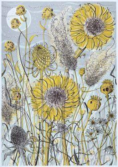 Angie Lewin - GODFREY & WATT – Harrogate, North Yorkshire - specialising in British art