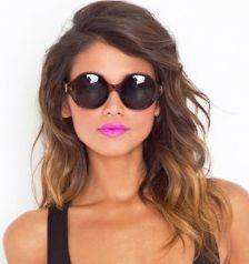 Brown ombre hair. If I get brave and color hair.