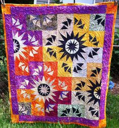 QUILT FOR SALE-Finished this week June 13, 2015 53x63 Machine quilted Love the fabrics and the pattern.  Jenn-Alabama