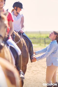 My Little Pony is nice, but some kids think bigger. Try enrolling yours in a horseback riding class, and watch them gallop off for hours of fun.