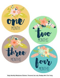 PRINTABLE Baby Month