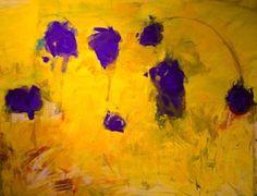 "Saatchi Art Artist Manfred Koreck; Painting, ""composition in a field"" #art"